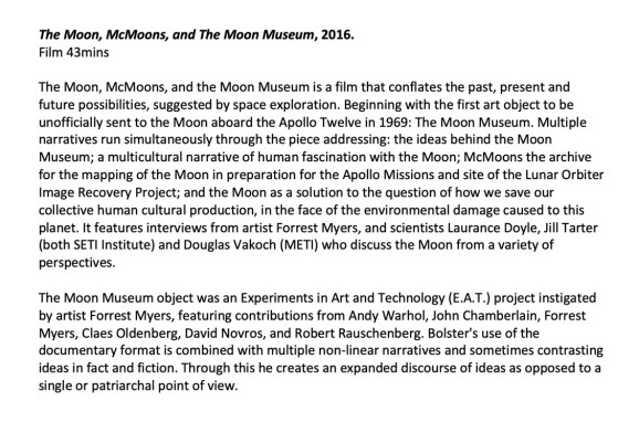 The Mon McMoons and the Moon Museum